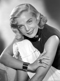 Lizabeth Scott Portrait in Classic wearing Black Top Photo by  Movie Star News