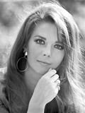 Natalie Wood Portrait in Classic with Earrings Photo by  Movie Star News