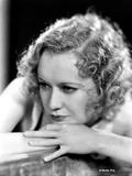 Miriam Hopkins Leaning on Hands Portrait Photo by  Movie Star News