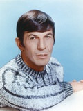Leonard Nimoy in Fur Long Sleeves Portrait Photo by  Movie Star News