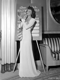 Mary Martin on Long Dress and standing Portrait Photo by  Movie Star News