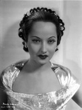Merle Oberon on a Silk Top Photo by  Movie Star News