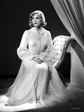 Lizabeth Scott Seated in Classic Portrait Photo by  Movie Star News
