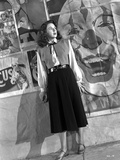 Merle Oberon on a Long Sleeve standing Photo by  Movie Star News