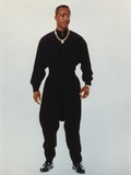 MC Hammer Posed in Black Outfit with Necklace Photo by  Movie Star News