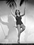 Martha Raye posed on a Swing Photo by  Movie Star News
