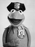 Muppets in Police Outfit Portrait Photo by  Movie Star News