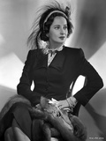 Merle Oberon on a Long Sleeve sitting Photo by  Movie Star News