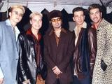 N'sync Group Posed in Coat Photo af Movie Star News