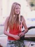 Leelee Sobieski Posed in Red Shirt Portrait Photo by  Movie Star News