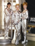 Lost In Space Cast Members in Portrait Photo by  Movie Star News
