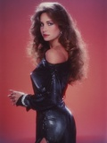 Mary Crosby Posed in Black Shiny Dress Photo by  Movie Star News