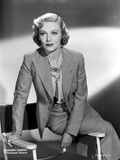Madeleine Carroll Seated in Classic Photo by  Movie Star News
