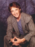 Martin Short in Blue Coat and Shirt Portrait Photo by  Movie Star News