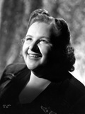 Kate Smith Curly Hairdo smiling Portrait Photo by  Movie Star News