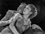Most Dangerous Game Two Couple Lying on The Bed in Black and White Photo by  Movie Star News
