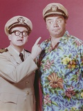 McHale's Navy Posed with a Two Men in Pink Background Photo by  Movie Star News