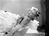 Madeleine Carroll Lying in White Gown Portrait Photo by  Movie Star News