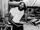 Marvin Gaye sitting Portrait Foto di  Movie Star News