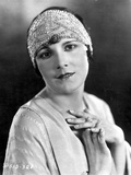 Leatrice Joy on Headband with Sequin in Classic Portrait Photo by  Movie Star News