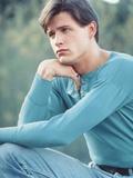 Michael Pare Close Up Portrait Photo by  Movie Star News