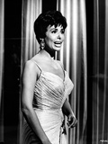 Lena Horne Candid Shot Portrait in Black and White Photo by  Movie Star News