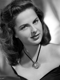 Martha Hyer on an Off Shoulder Top Portrait Photo by  Movie Star News