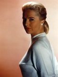 Martha Hyer Portrait in White Dress Photo by  Movie Star News