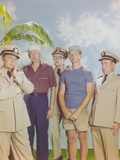 McHale's Navy Group Picture with Banan Background Photo by  Movie Star News