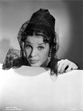 Martha Raye Veil on Head Portrait Photo by  Movie Star News
