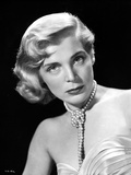 Lizabeth Scott Portrait in Classic with Pearl Earrings Photo by  Movie Star News