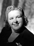 Kate Smith Curly Hairdo Close Up Portrait Photo by  Movie Star News