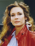 Mary Crosby Portrait wearing Red Jacket Photo by  Movie Star News