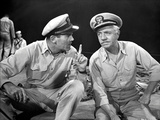 Mister Roberts Two Sailors Talking in Uniform Photo by  Movie Star News