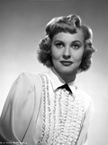Lola Albright posed in a Long Sleeve Blouse Photo by  Movie Star News