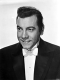 Mario Lanza in Black With White Background Photo by  Movie Star News