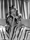 Martha Raye Portrait wearing Printed Dress Photo by  Movie Star News