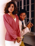 Mitzi Kapture in Pink Coat Photo by  Movie Star News