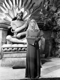 Maria Ouspenskaya standing in Elegant Dress Portrait Photo by  Movie Star News
