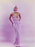 Lola Falana Posed in White Elegant Dress Photo by  Movie Star News