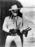 Lone Ranger Man Holding a Gun in Eye Mask and Hat Photo by  Movie Star News