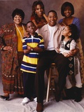 Nell Carter Family Portrait in Brown Background Photo by  Movie Star News