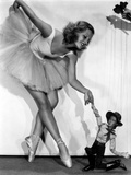 Lillian Harvey on a Ballet Dancer Attire Swaying her Skirt Portrait Photo by  Movie Star News