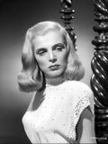 Lizabeth Scott Portrait in Classic in Elegant Dress Photo by  Movie Star News