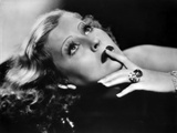Lillian Harvey Looking Up with Finger on Lips Portrait Photo by  Movie Star News