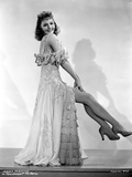 Mary Martin on a Ruffled Dress and sitting on a Chair Portrait Photo av  Movie Star News