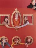 Partridge Family Group Posed in Red Frame Photo by  Movie Star News