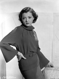 Sylvia Sidney wearing a Dress and Hand on Waist Photo by  Movie Star News