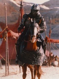 Michael Clarke Duncan Riding Horse in Armored Gorilla Photo by  Movie Star News