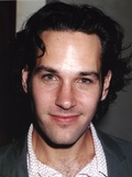 Paul Rudd smiling Portrait in Gray Coat Photo by  Movie Star News